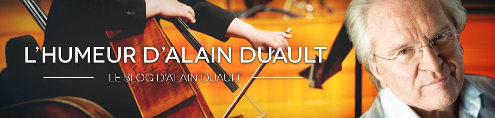 L'Humeur d'Alain Duault