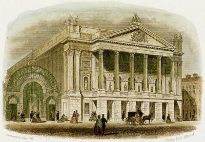 L'Opéra Royal de Covent Garden à Londres