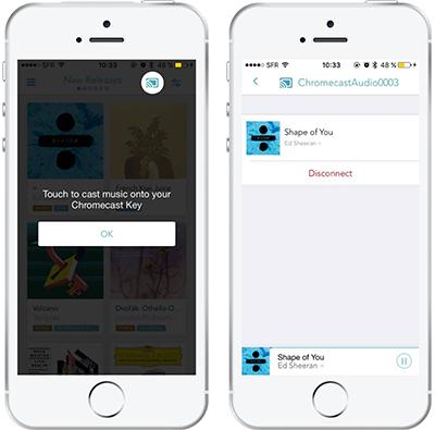 GoogleCast on iOS