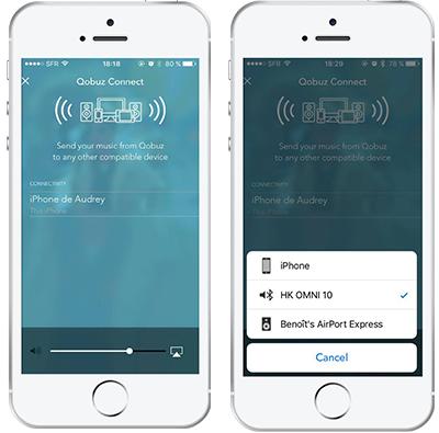 Bluetooth selection