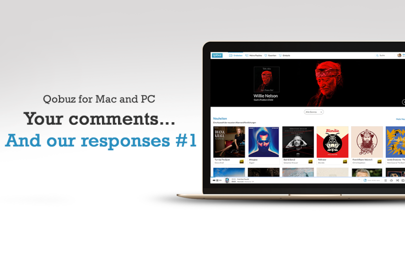 New application for Mac and PC: your comments… and our