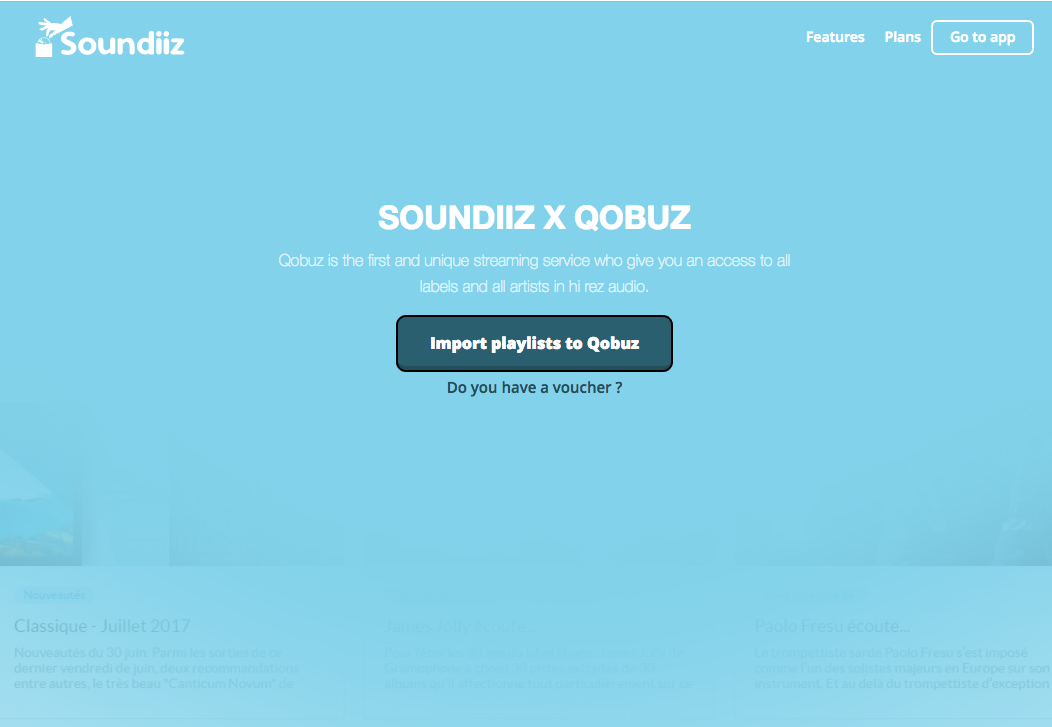Import your playlists into Qobuz with Soundiiz! | The Qobuz Blog