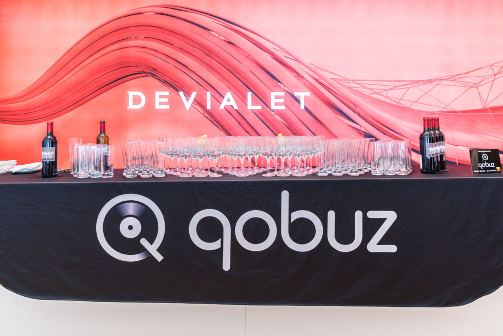 Devialet, Qobuz, and wine - what could go better?