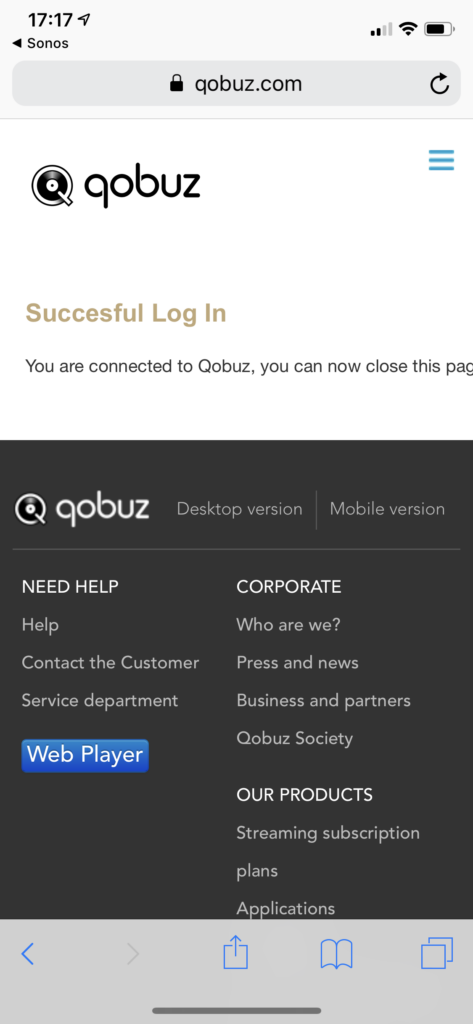 Qobuz is Now Integrated with SONOS in the US | The Qobuz Blog