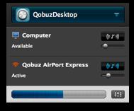 Airfoil pour Qobuz Desktop