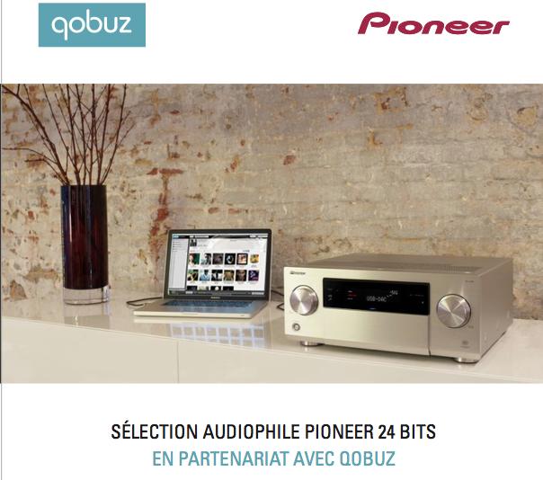 qobuz signe un partenariat in dit avec pioneer le blog qobuz. Black Bedroom Furniture Sets. Home Design Ideas